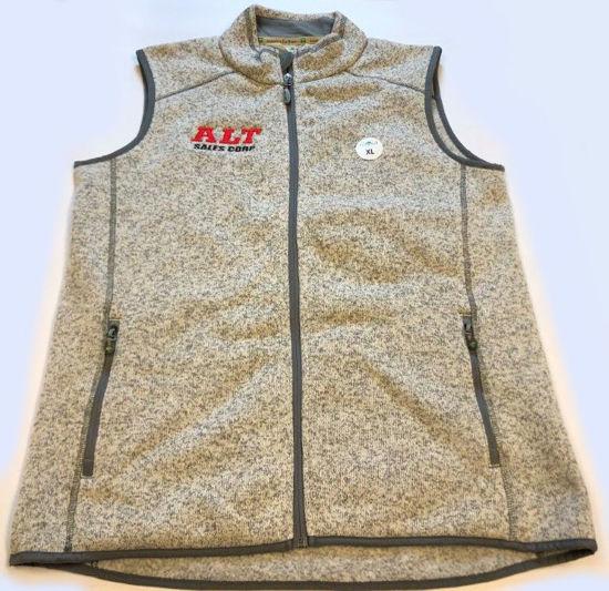 ALT Silver Zip Up Vest