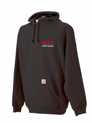 Black ALL Carhartt Hooded Sweatshirt
