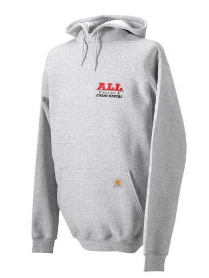 Gray Carhartt Hooded Sweatshirt