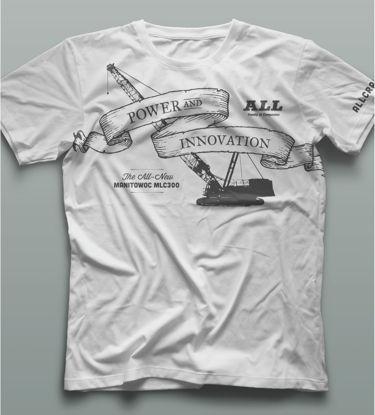 White Crane/Ship t-shirt